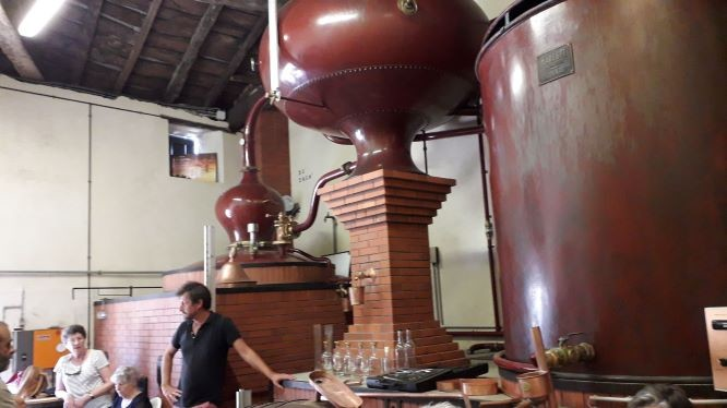 La distillerie de Mr Pelletant.